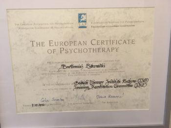 Europejski Certyfikat Psychoterapii