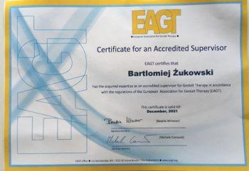 Europejski Certyfikat Superwizora Psychoterapii Gestalt